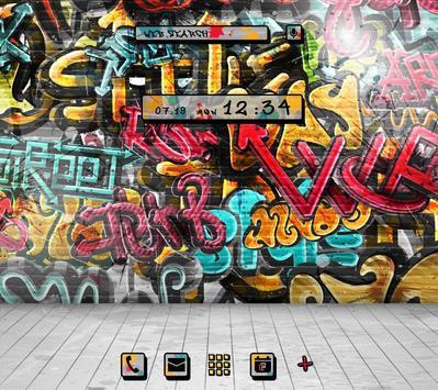 Graffiti Wallpaper&icon poster