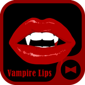 Vampire Lips Free Theme icon