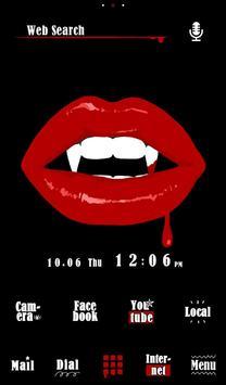 Vampire Lips Free Theme poster