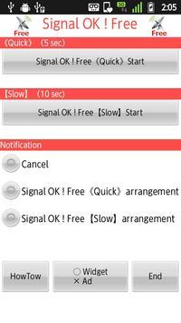 Signal OK ! Free poster