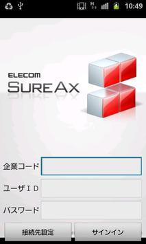 SureAx poster