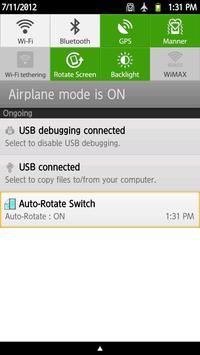 Auto-Rotate Switch apk screenshot