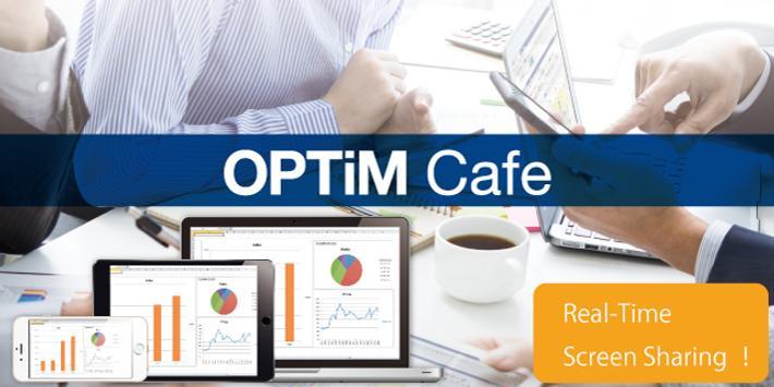 OPTiM Cafe poster