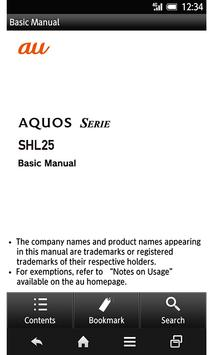 SHL25 Basic Manual poster