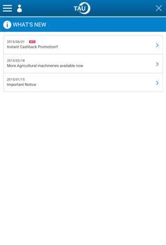 TAU-Trade apk screenshot
