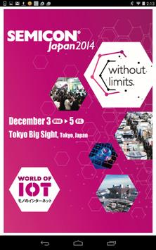 SEMICON Japan 2014 poster