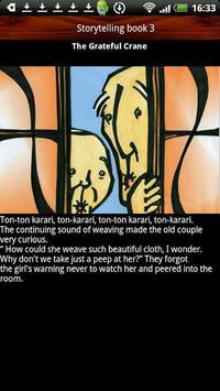 Storytelling book The Crane apk screenshot