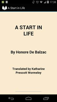 A Start in Life poster