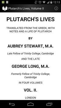 Plutarch's Lives Volume 2 poster