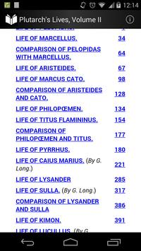 Plutarch's Lives Volume 2 apk screenshot