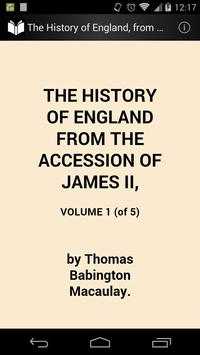 The History of England 1 poster