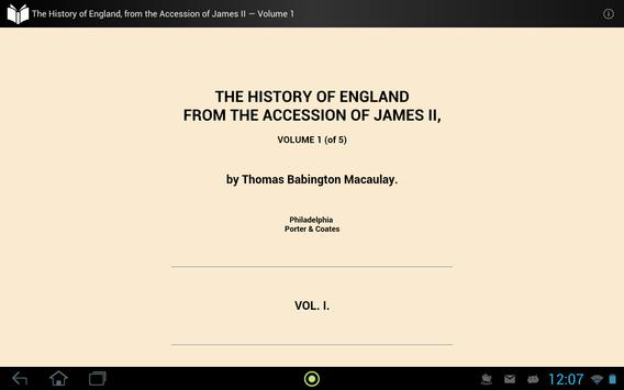 The History of England 1 apk screenshot