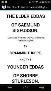 Elder Eddas Saemund Sigfusson poster