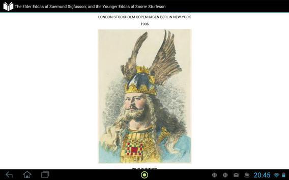 Elder Eddas Saemund Sigfusson apk screenshot
