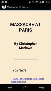 Massacre at Paris poster