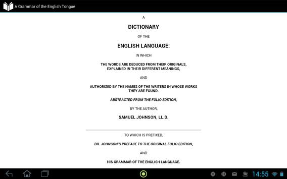 Dictionary of English Language apk screenshot