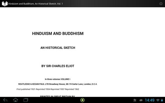 Hinduism and Buddhism, Vol. 1 apk screenshot