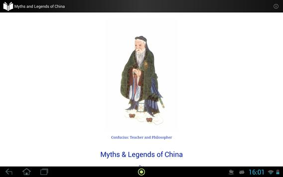 Myths and Legends of China apk screenshot