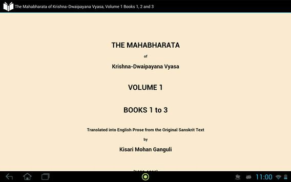 The Mahabharata Volume 1 apk screenshot