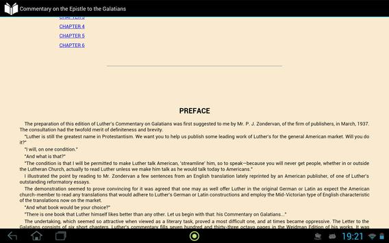 The Epistle to the Galatians apk screenshot
