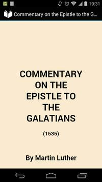 The Epistle to the Galatians poster