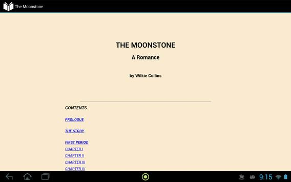 The Moonstone apk screenshot