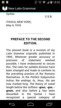 New Latin Grammar apk screenshot