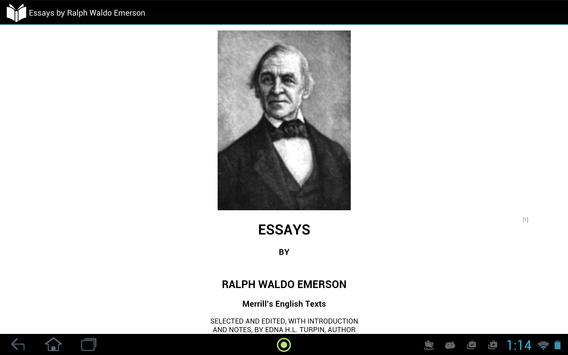 Essays by Ralph Waldo Emerson apk screenshot