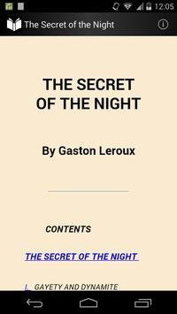 The Secret of the Night poster