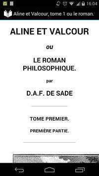 Aline et Valcour, tome 1 poster