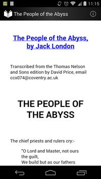 The People of the Abyss poster