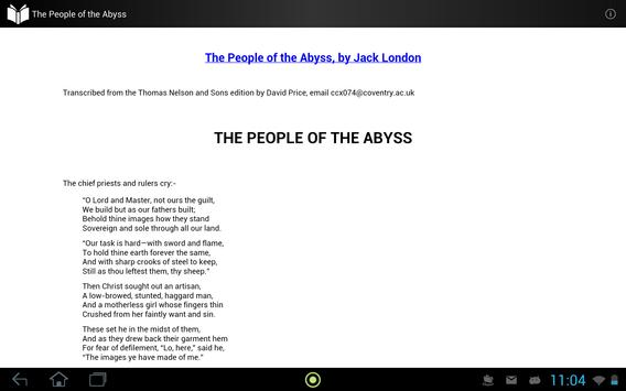 The People of the Abyss apk screenshot