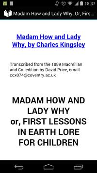 Madam How and Lady Why poster