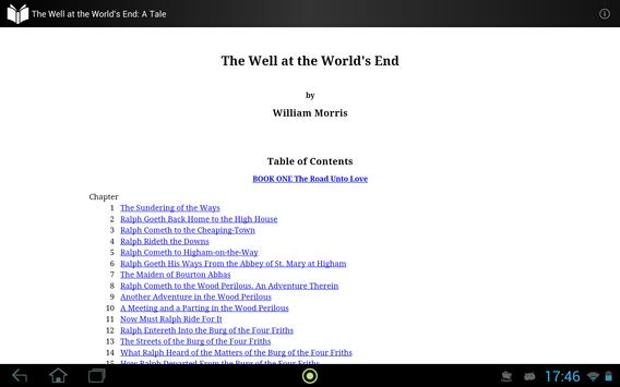 The Well at the World's End apk screenshot