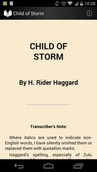 Child of Storm poster
