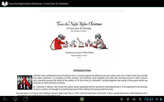 Twas Night before Christmas apk screenshot