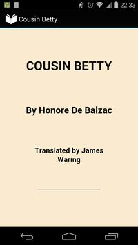 Cousin Betty poster
