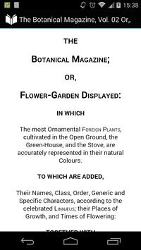 The Botanical Magazine Vol. 02 poster