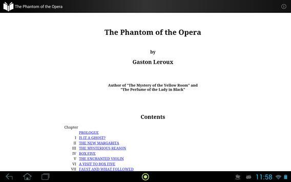 The Phantom of the Opera apk screenshot