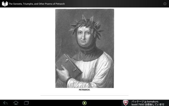 Poems of Petrarch apk screenshot