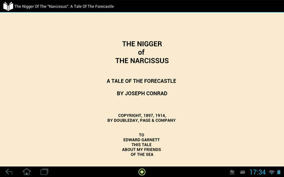 The Nigger of the Narcissus apk screenshot