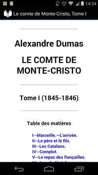Le comte de Monte-Cristo 1 poster