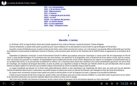 Le comte de Monte-Cristo 1 apk screenshot