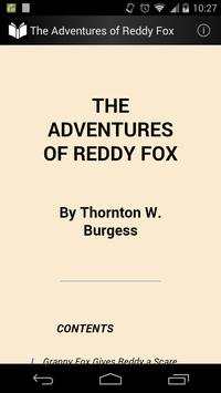 The Adventures of Reddy Fox poster