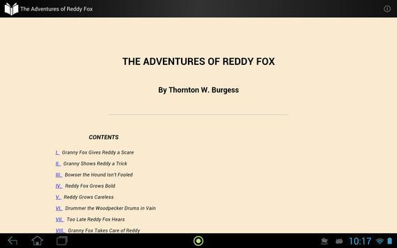 The Adventures of Reddy Fox apk screenshot