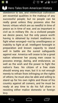 American History Hero Tales apk screenshot