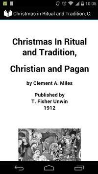 Christmas: Christian and Pagan poster