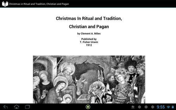 Christmas: Christian and Pagan apk screenshot