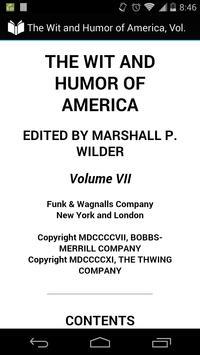 Wit and Humor of America 7 apk screenshot