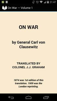 On War — Volume 1 poster